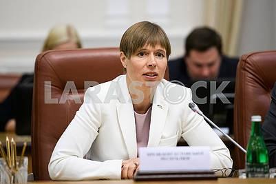 Керсти Кальюлайд, президент Эстонии