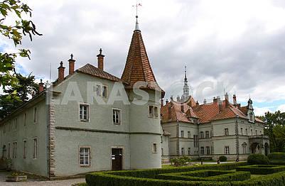 Замок Шенборнов в Закарпатье