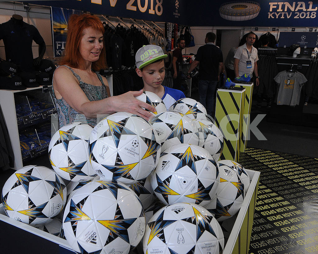 Balls of Champions League on Khreshchatyk — Image 71101