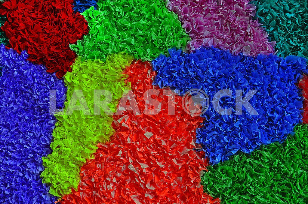 Multicolored papier-mache background — Image 71123