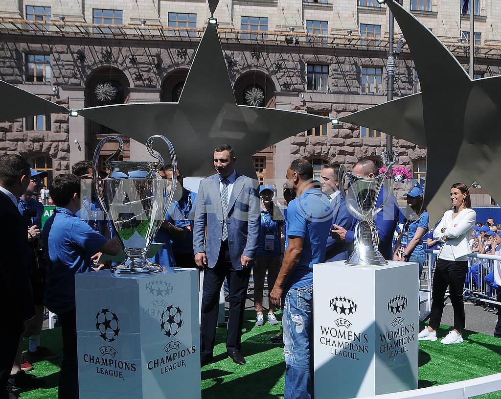 Football fans on Khreshchatyk — Image 71207