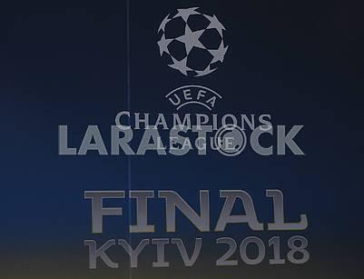 Football fans on Khreshchatyk