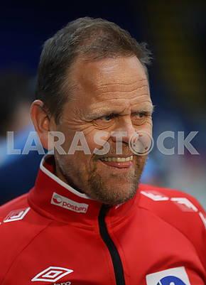 Тренер сборной Норвегии Тхорир Хергейрссон