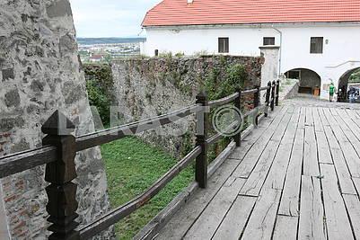 Подъемный мост в замке Паланок
