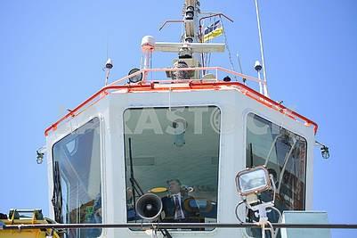 Петр Порошенко на капитанском мостике