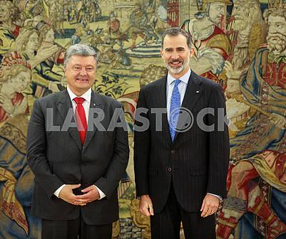 Петр Порошенко и Филипп VI