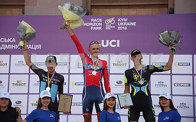 Победители велогонки