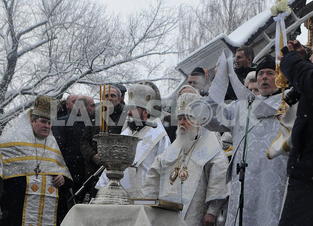 Celebration of Epiphany in Kiev — Image 71475
