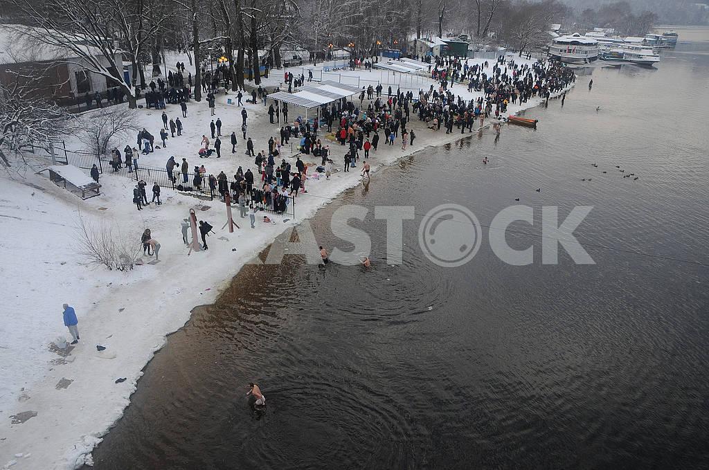 Celebration of Epiphany in Kiev — Image 71480