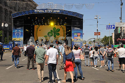 Celebrating the day of Kiev
