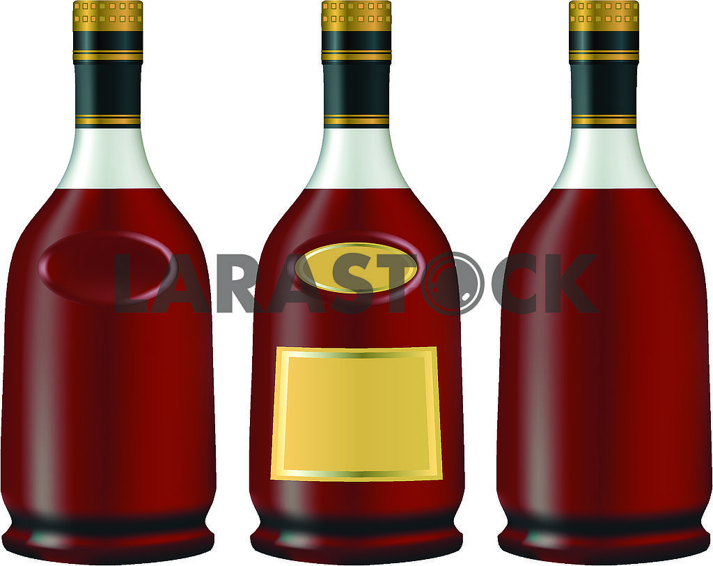 Bottles with cognac — Image 71485