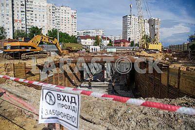 "Construction of the electrodepo ""Alekseevskoe"""