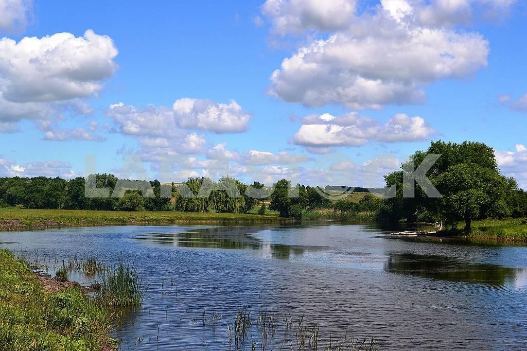 Река в лесо-степной зоне — Изображение 71596