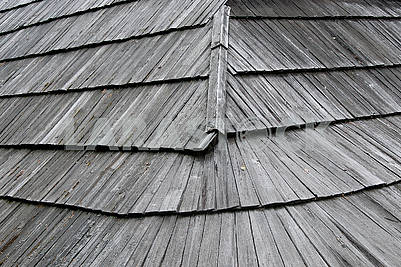 Old wooden roof, Gonta.  Abstract  background