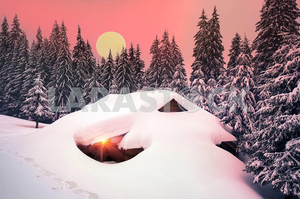 Рождественский дом в Карпатах — Изображение 71766