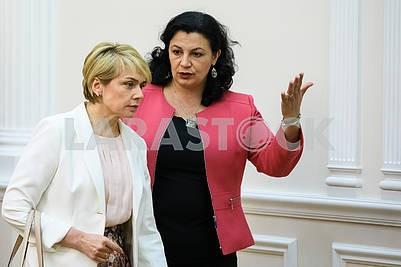 Lilia Grinevich, Ivanna Klimpush-Tsitsnadze
