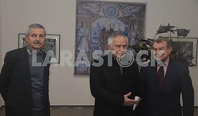 Alexander Melnik, Dmitry Pavlychko and Yury Bogutsky
