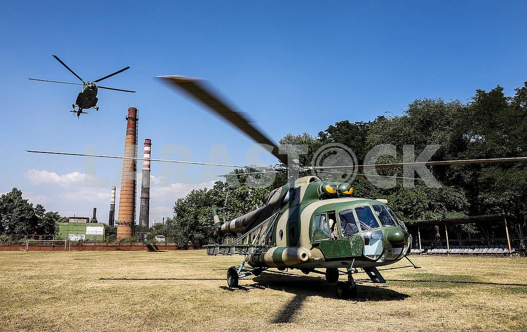 Вертолеты на территории воинской части — Изображение 71959