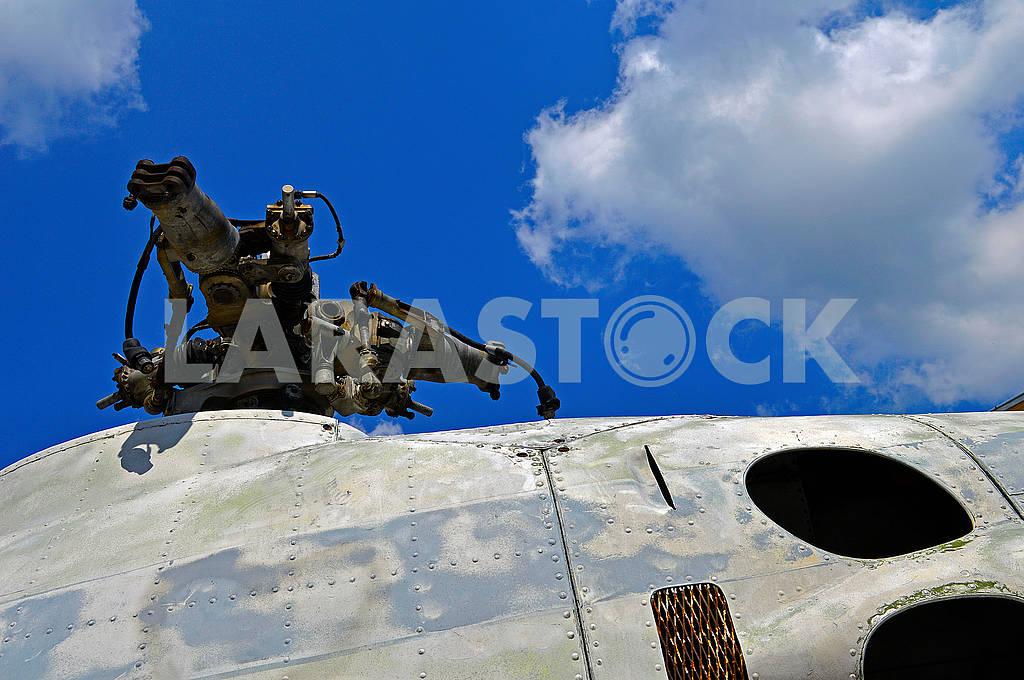 Фрагмент старого радянського вертольота Мі-2 — Изображение 72142