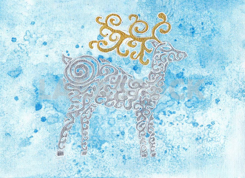 Deer - postcard — Image 72201