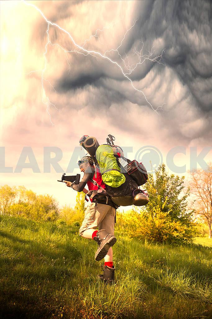 Огромный новичок рюкзак в горах — Изображение 72217