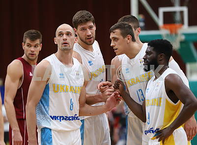 Players of the Ukrainian national team