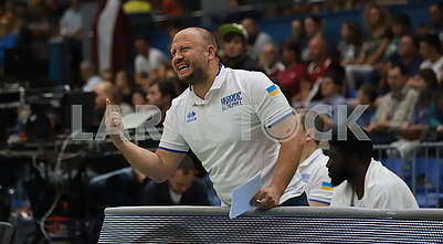 Maxim Mikhelson, coach of the Sat. Of Ukraine