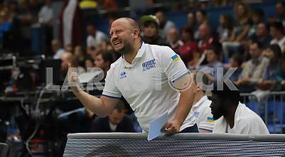 Максим Михельсон, тренер сб. Украины