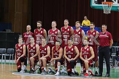 Сборная Латвии по баскетболу