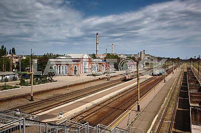 Railway station Kramatorsk