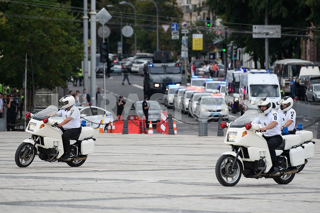 Полицейские на мотоциклах — Изображение 72422