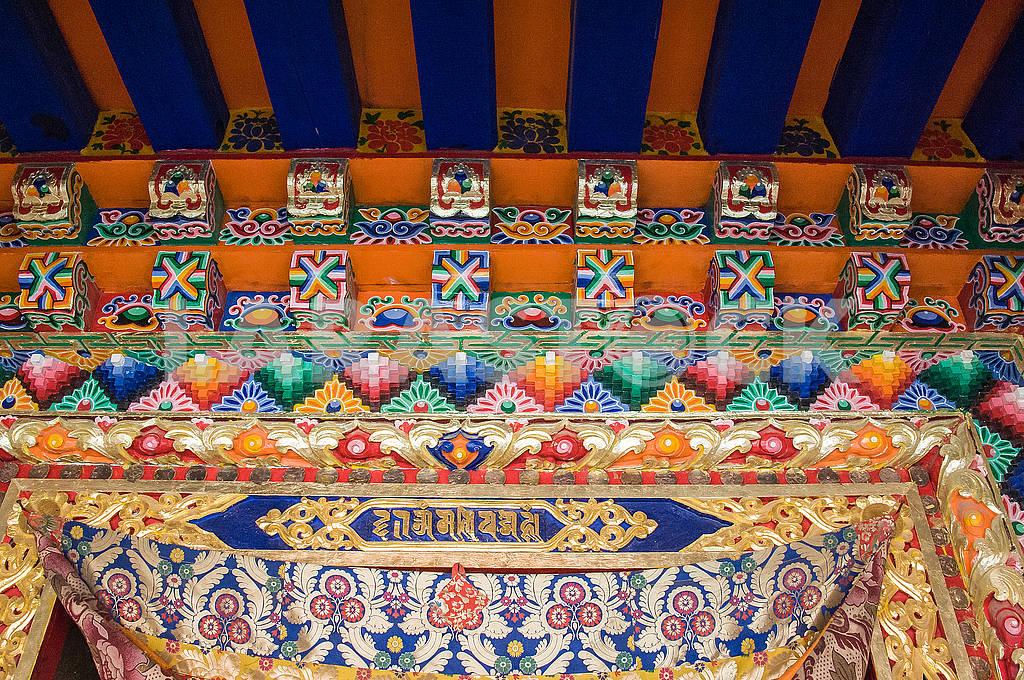 Рисунки и фрески девятиэтажного храма Миларепы — Изображение 72488