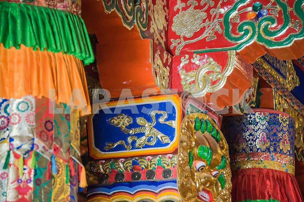 Фрески и рисунки девятиэтажного храма Миларепы — Изображение 72491