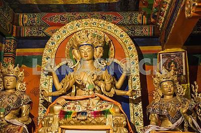 Статуя Господа Даттатрейи - Абсолютные ритуальные обряды