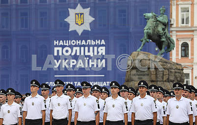 Police on Sofia's Square