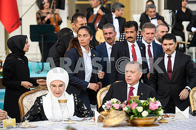 Recep Erdogan, Emine Erdogan