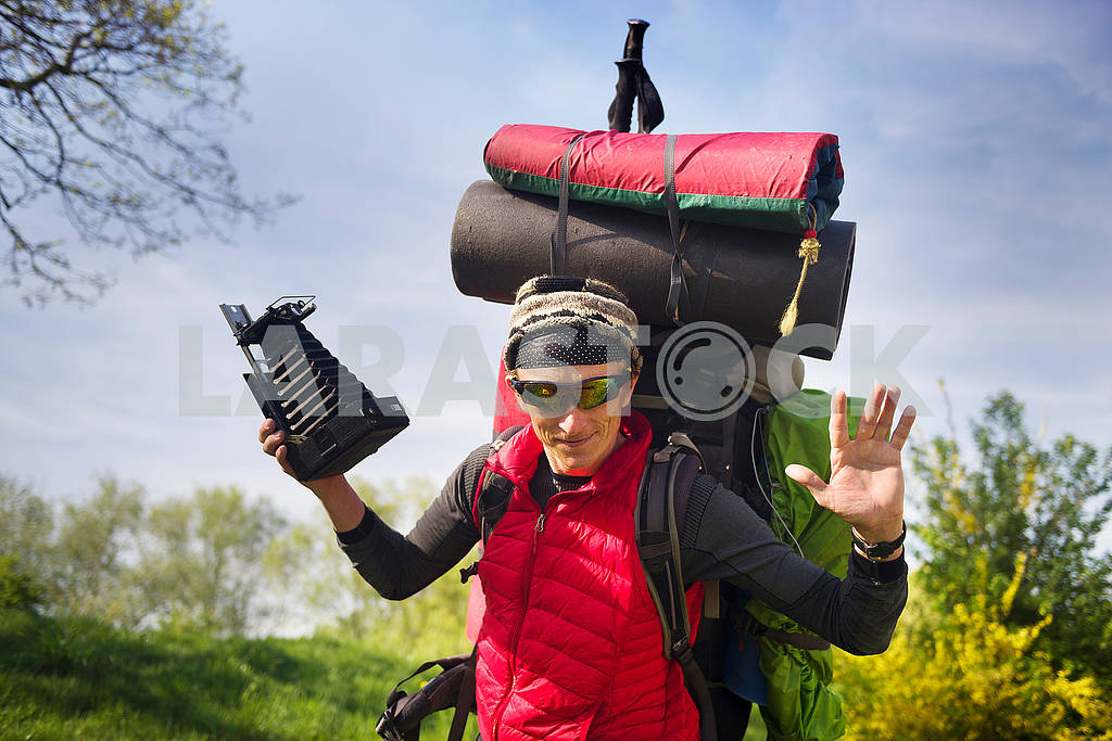 Huge novice backpack in the mountains — Image 72582