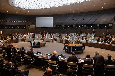 Participants of the NATO summit
