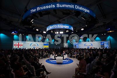"Participants in the symposium ""NATO draws"""
