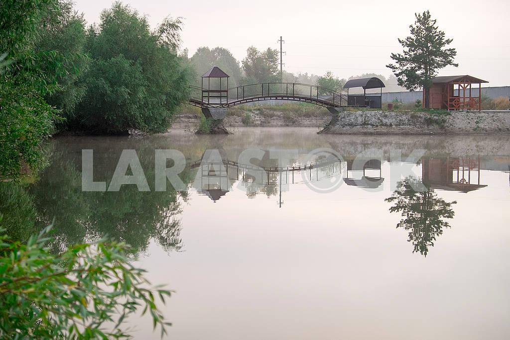 Мостик над озером — Изображение 72869