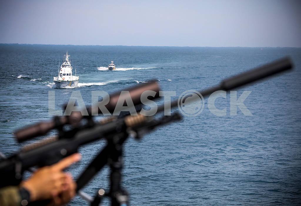 Морские катераи пулемет — Изображение 72893