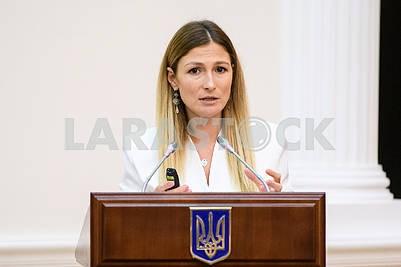 Emine Japarova, Ministry of Information Policy