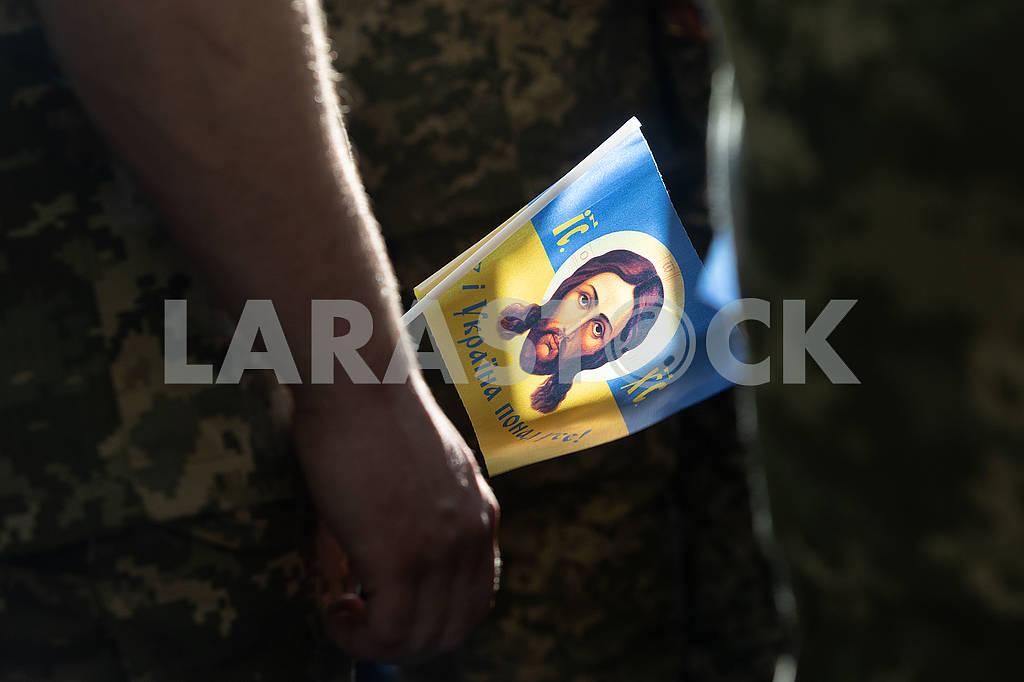Флажок с Исусом — Изображение 72960