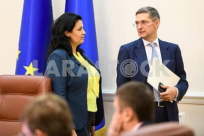 Ivanna Klimpush-Tsitsnadze, Victor Kovalchuk