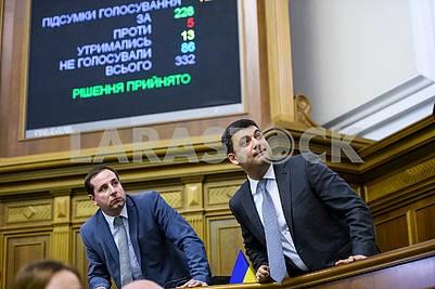 Alexander Sayenko, Vladimir Groysman