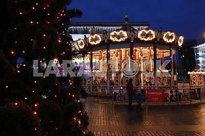 Carousel in Dnipro
