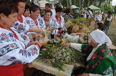 Celebrating Makovey in Pirogovo
