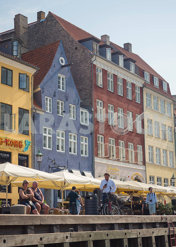 Cafe in the area of ​​Nyhavn — Image 73387