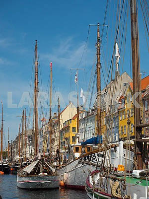 Yachts on the Nyhavn Canal