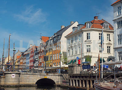Canal and Nyhavn district
